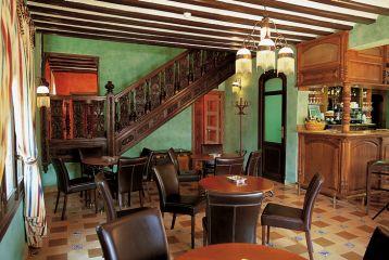 Hotel*** Palacio Azcárate - Detalle de la cafetería