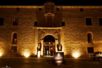 Burgo de Osma - Fachada nocturna