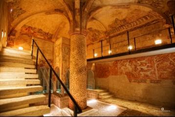 Castilla Termal Burgo de Osma - Sala de baños Palmera