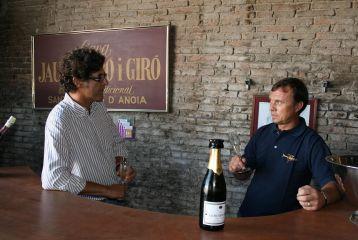 Degustacion de cava en la bodega Jaume Giro i Giro