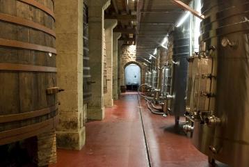 Bodegas Riojanas - Sala de tinos