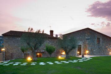 Hotel Mas 1670 Can Barceló - Jardín