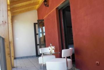 Bodegas y Hotel Felix Sanz - Terraza