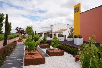 Chozas Carrascal - Jardín de las variedades