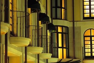 Hotel Restaurante-Spa Villa de Laguardia - Detalles balcones de habitaciones