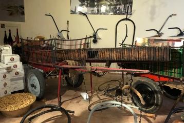 Dominio de la Vega - Maquinaria en el museo