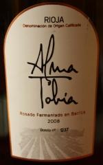 Alma de Tobía Rosado 2008
