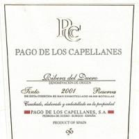 Pago de los Capellanes 2001