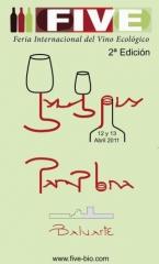 Cartel de la 2ª Edición de la Feria Internacional de Vinos Ecológicos