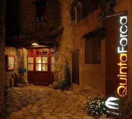 Entrada en el Restaurante Quinta Forca