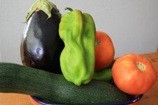 Algunas verduras de la huerta de Julián