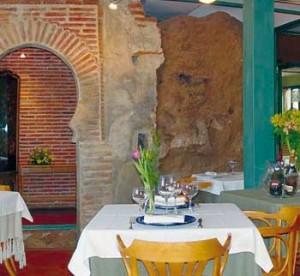 Impresionante Arco situado en el comedor del Restaurante