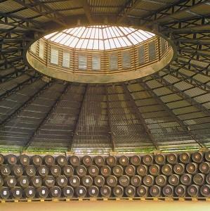 Interior de la Bodega de La Concha