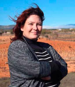 Esperanza Alonso responsable del Museo del Vino de Utiel y especialista en turismo del vino