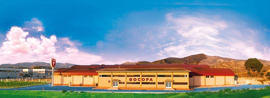 instalaciones de la bodega Bocopa