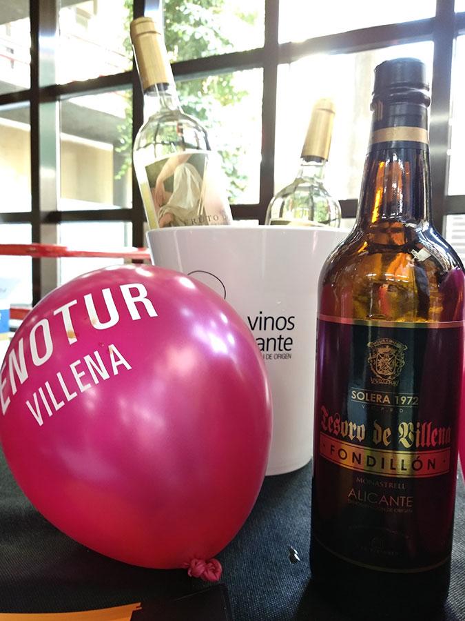 Sala de inicio del BlogTrip en Enotur Villena 2018