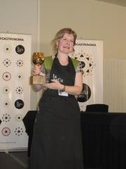 Montse Velasco, ganadora de la XX Edición de la Nariz de Oro